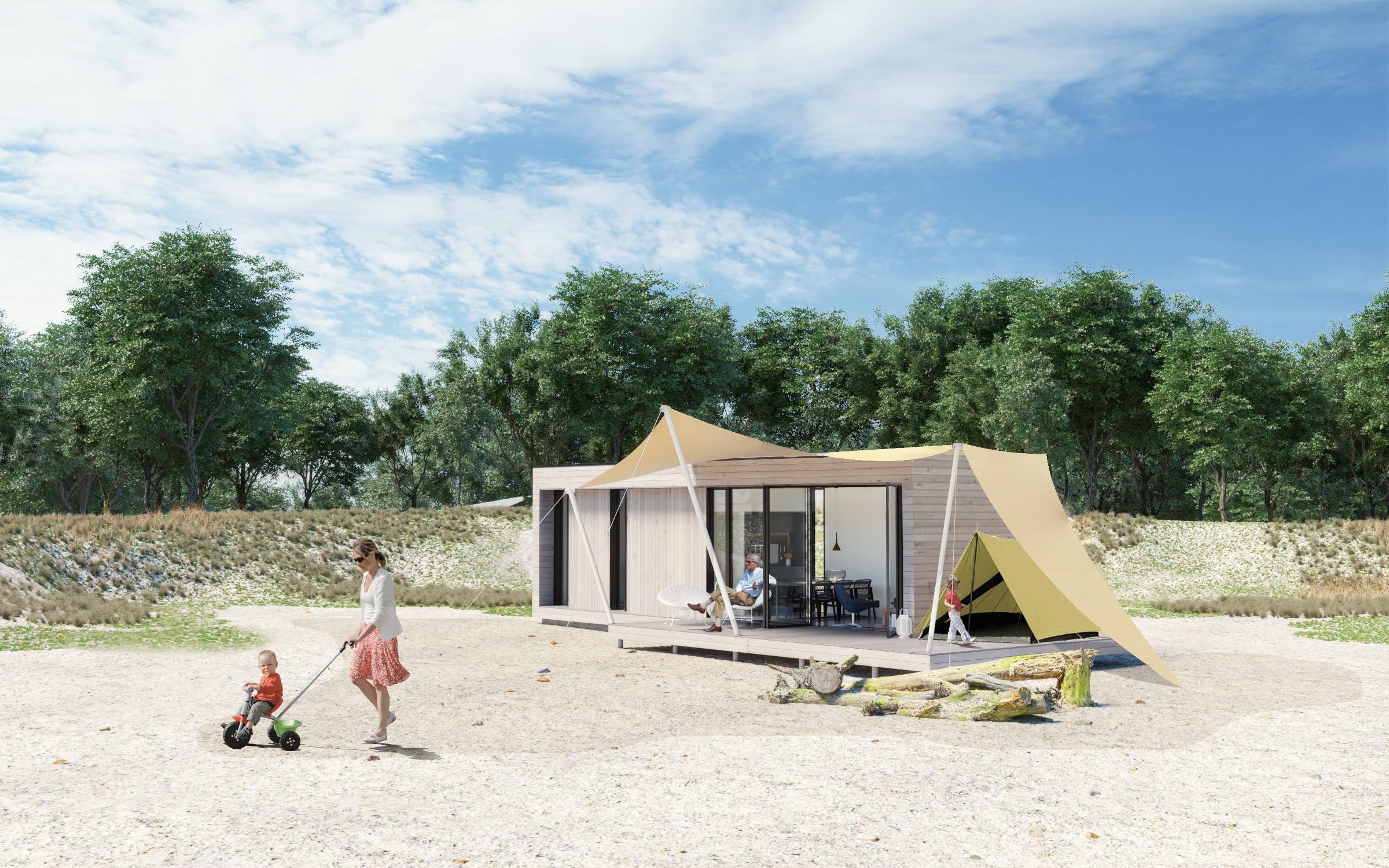 35m2 De Waard tent