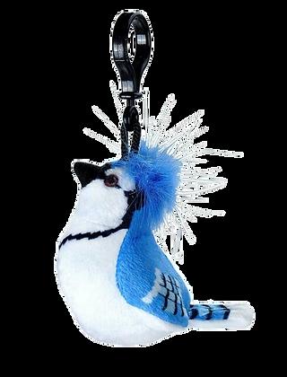Blue Jay Bird Clip