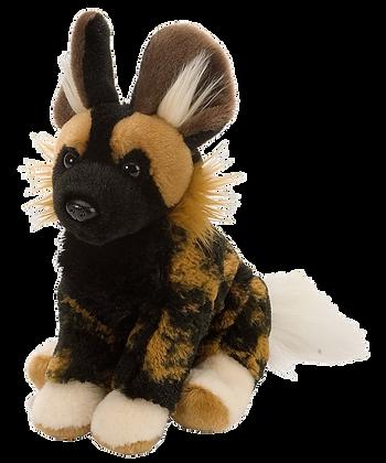 Stuffed African Wild Dog Mini Cuddlekin
