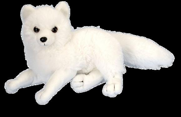 Stuffed Arctic Fox Mini Cuddlekin by Wild Republic