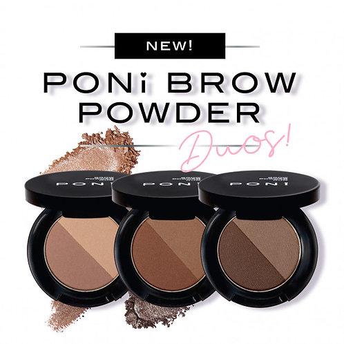PONi Brow Duo Powders