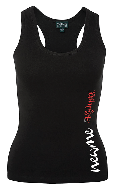 Ladies Athletic Singlet by AllyMaXX - Size 8 to 16