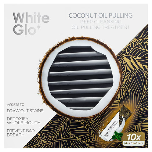 White Glo Coconut Oil Pulling