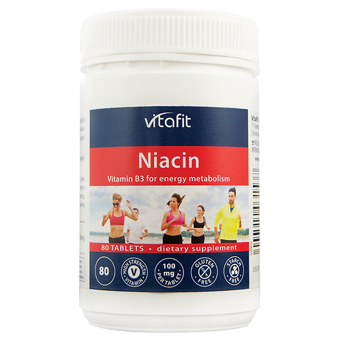 Vitaft Niacin 80 Tablets