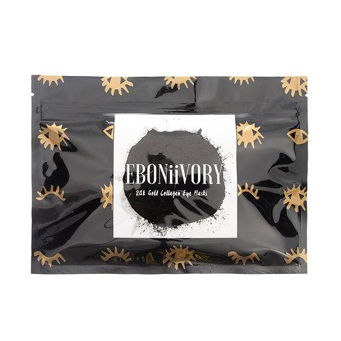 EBONiiVORY 24k Gold Collagen Under Eye Masks