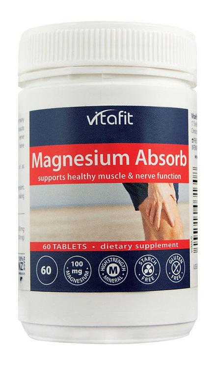 Vitafit Magnesium Absorb 60 Tablets