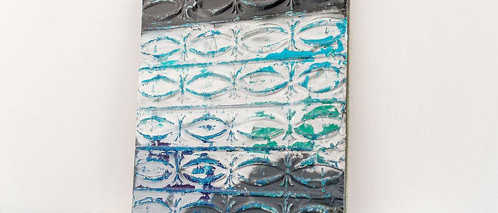 Raspas de Azul e Preto - Ladrilho II