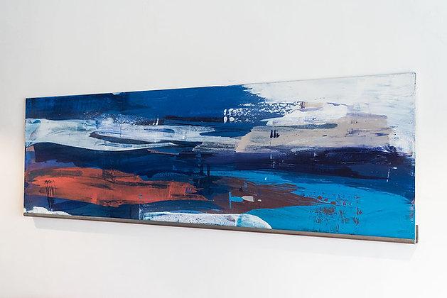 Abstract Heavy Blue - I