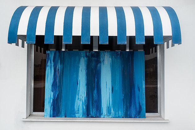 Abstract Deep Blue - I