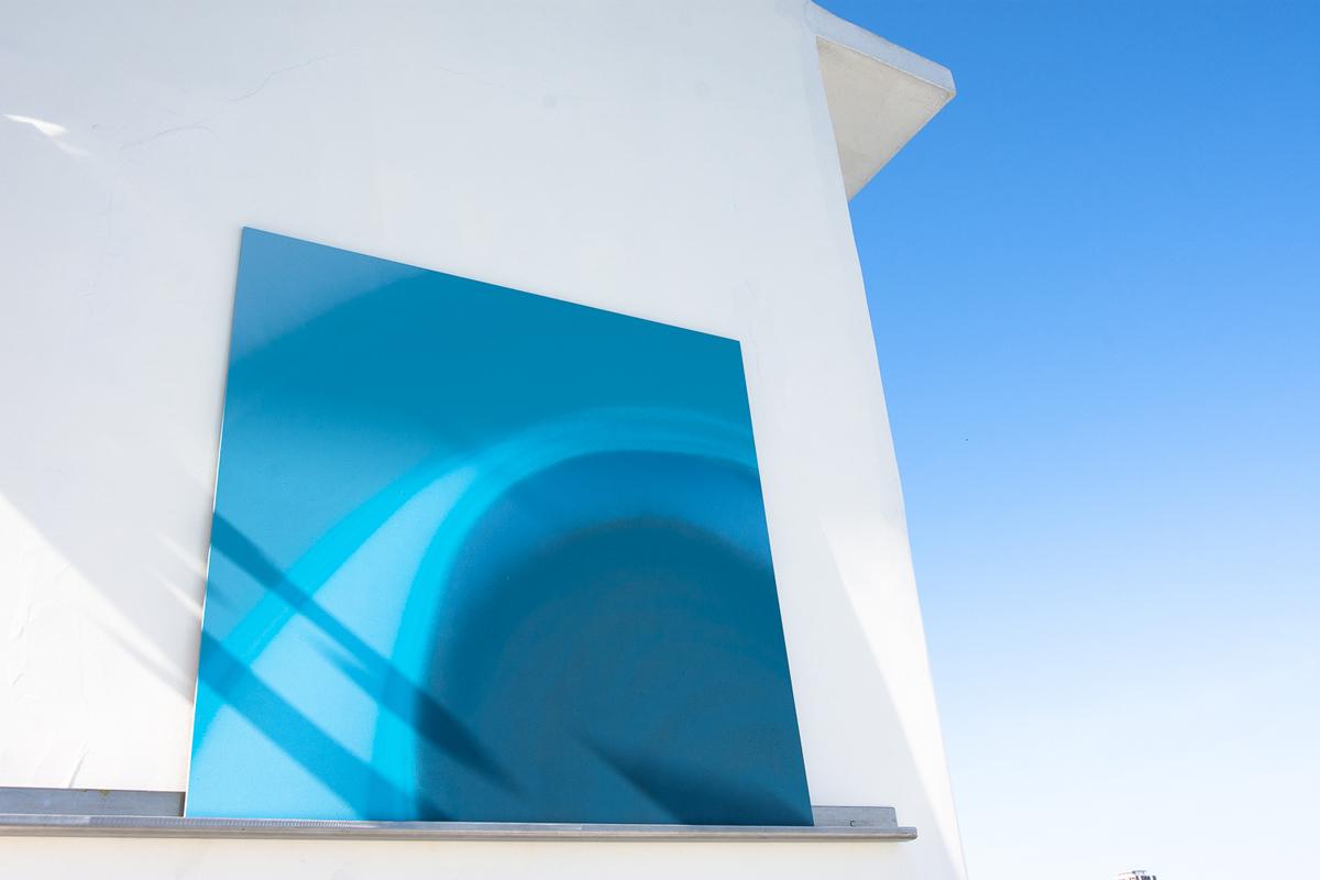 Confluência de azuis - I