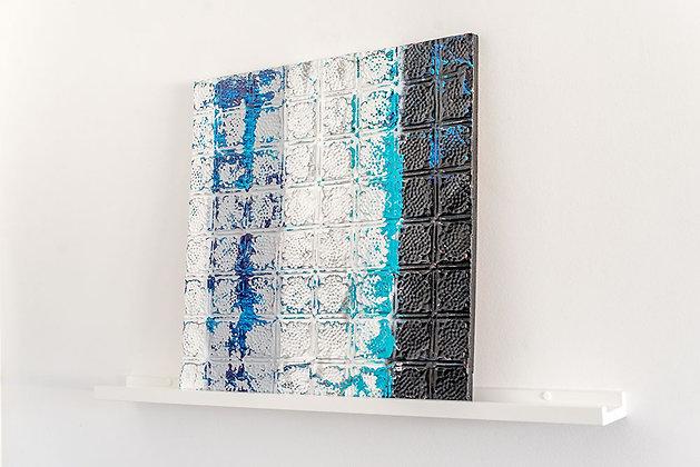 Raspas de Azul e Preto - Ladrilho I