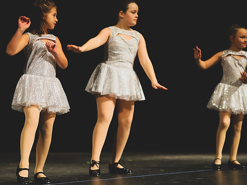 Girls Beginning Tap S2020 (ages 8 and up) Saturdays 11:15-12 AM