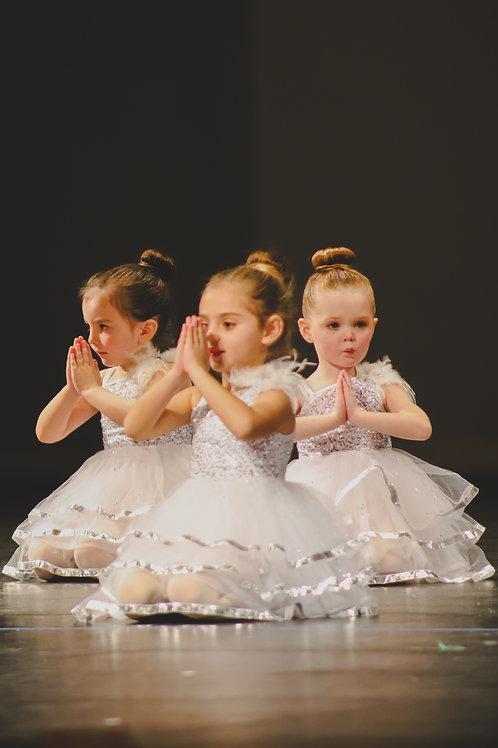 Pre-Ballet 2D S2020 (ages PreK-K) 1:30-2:15 PM Tuesdays