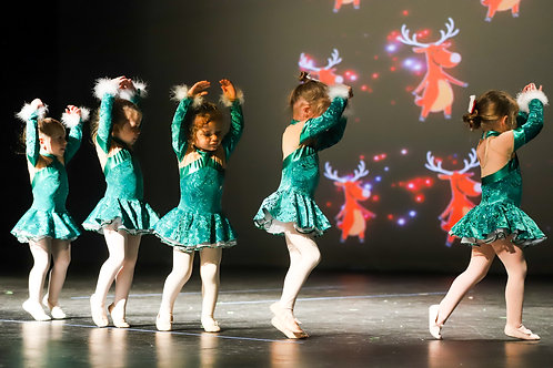 Pre-Ballet 1C S2020 (ages 2-3) 4:20-4:50 PM Friday