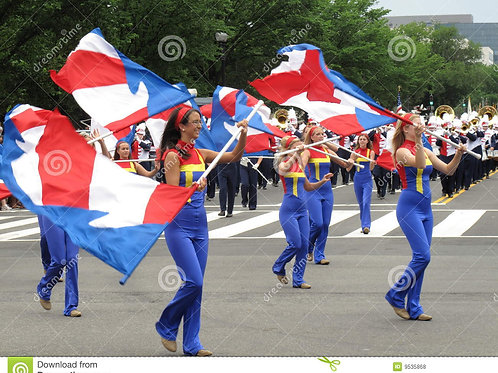 Color Guard Large Flag (6th grade and up) Tuesdays 6:00 pm