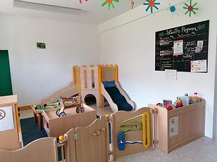 Die neue Spielecke von Mütter- und Familientreff Erlangen e.V.