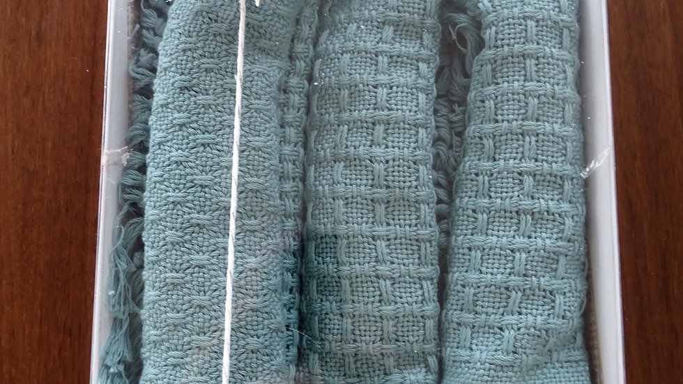 Placemats  cotton green set of 4