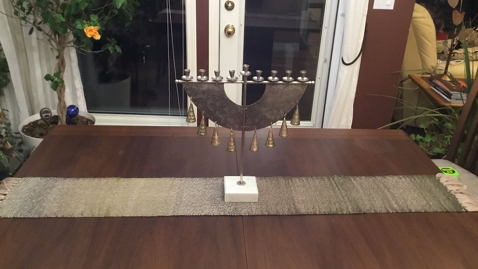 Brown and Tan Table Runner