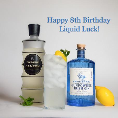 Happy 8th Birthday Liquid Luck!