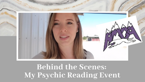 Psychic Reading Event: Behind the Scenes