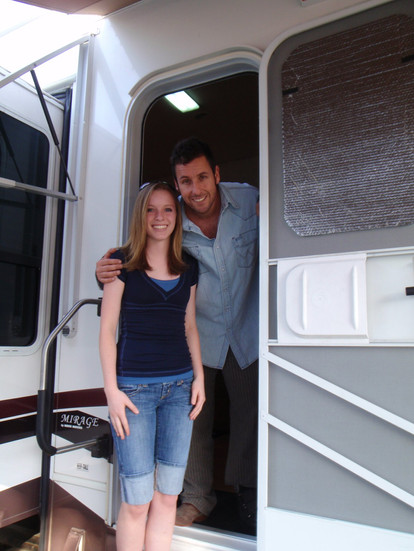 """On Set of """"Bedtime Stories"""""""