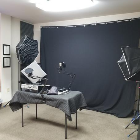 Studio Rentals Open for Booking