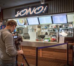 Filming s'ONO Testimonial