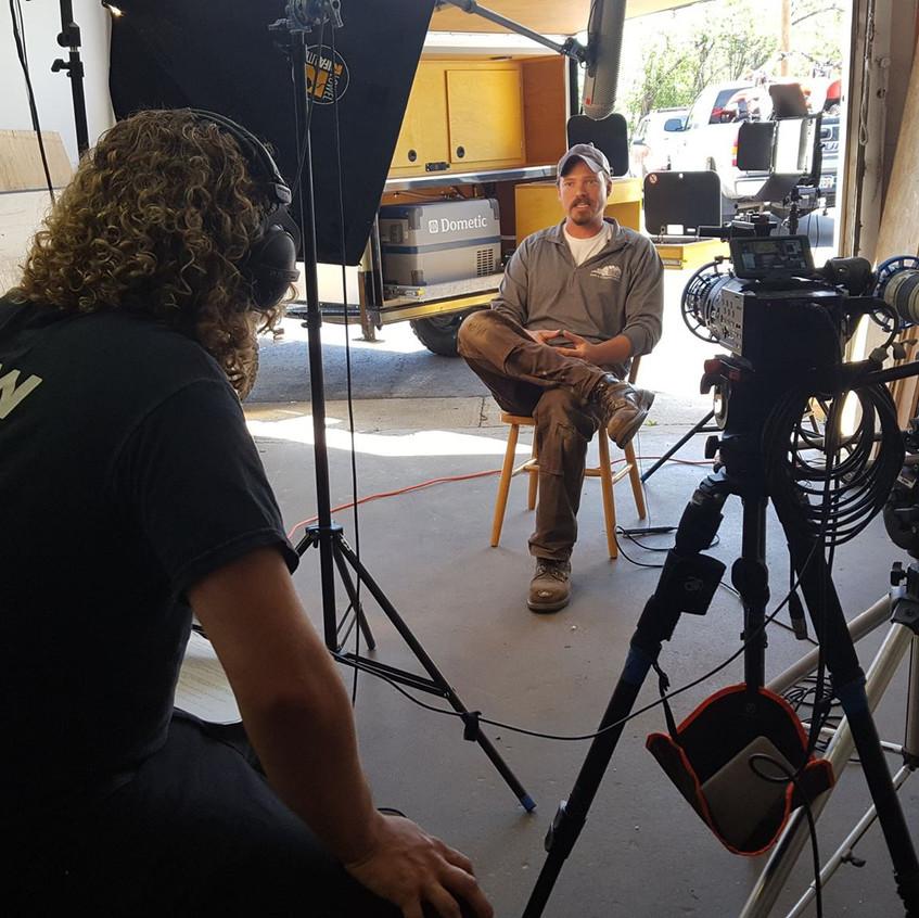 Interviewing Matt