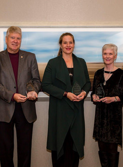 Winning CU Alumni Award