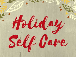 Managing Self-Care & the Holiday Season