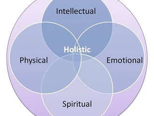The Holistic Model = Balance