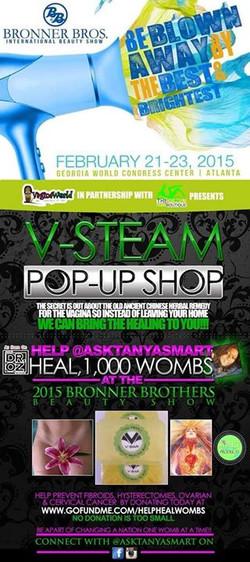 V-Steam Pop-Up Shop