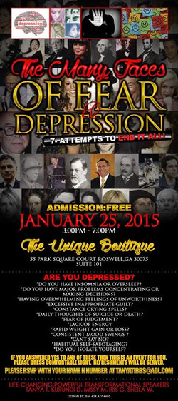 Many Faces of Fear & Depression