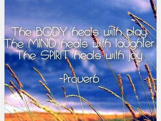 Healing is Simplistic...