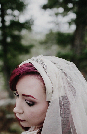 Heather Headpiece