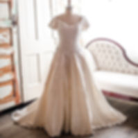 The James Vintage Gown