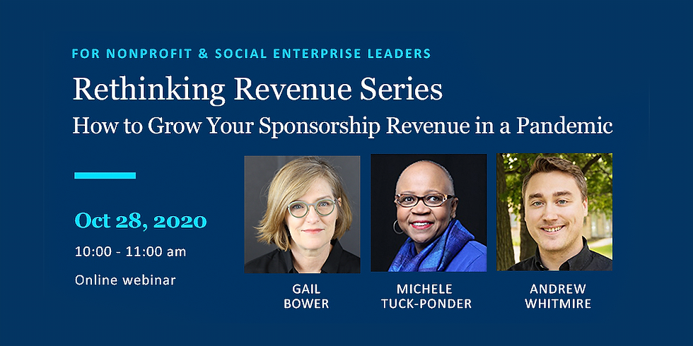 Rethinking Revenue Series #4: How to Grow Your Sponsorship Revenue in a Pandemic