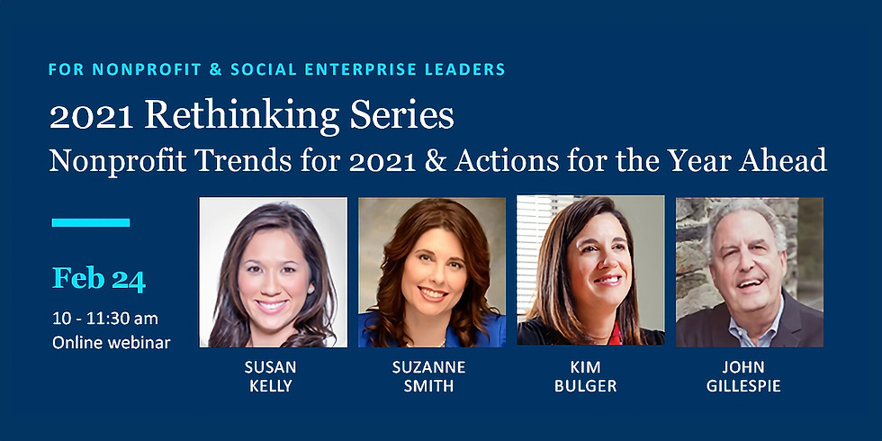 2021 Rethinking Revenue Series: Nonprofit Trends & Actions for the Year Ahead