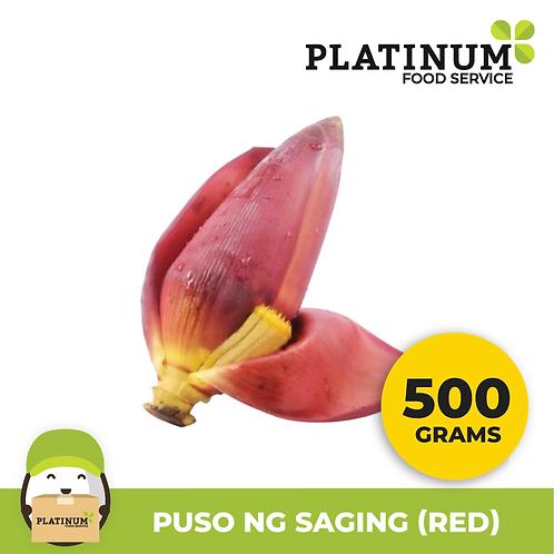 Puso ng Saging (Pula) 500G