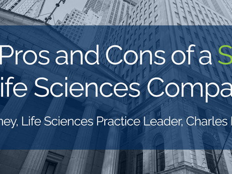Pros and Cons of a SPAC for Life Sciences Companies