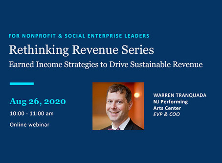 August 26 Webinar: Rethinking Revenue #2