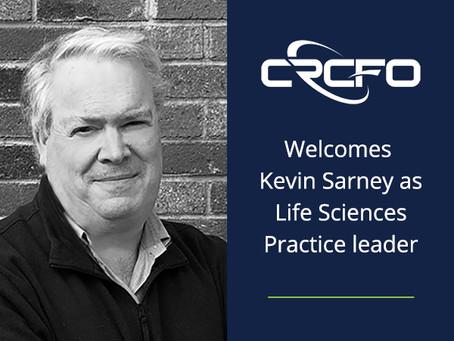 Kevin Sarney Joins Charles River CFO