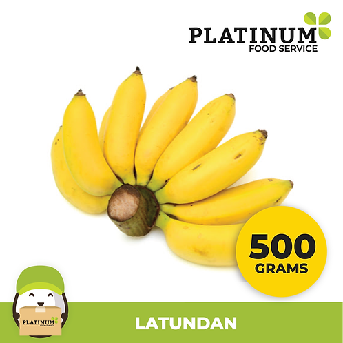 Banana Latundan 500G