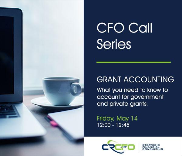 Charles River CFO Grant Accounting Webinar