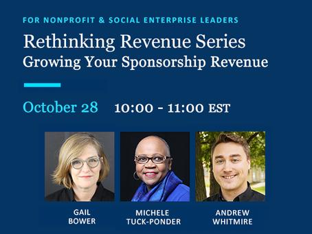 October 28 Webinar: Rethinking Revenue #4