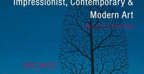 Contemporary, Impressionist & Modern Art Selection