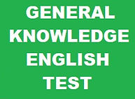 GENERAL KNOWLEDGE ENGLISH TEST BANNER. G