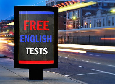 FREE ENGLISH TESTS. PRACTICE ENGLISH TES