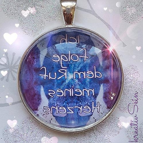 Glücks-Spiegel-Talisman - Ich folge dem Ruf meines Herzens