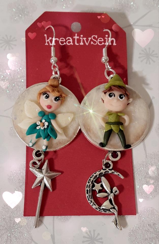 Tinkerbell und Peter Pan